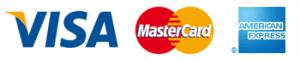 Kreditkarte VISA | MasterCard | American Express