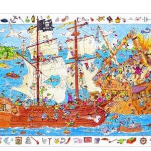 Puzzle Wimmelbild Piraten