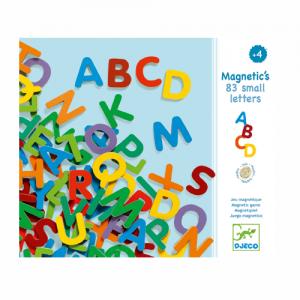 83 Buchstaben magnetisch