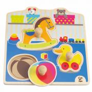 Knopfpuzzle Mein Spielzeug