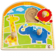 Knopfpuzzle Im Zoo