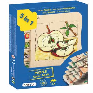 Lagenpuzzle Apfel