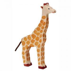 Giraffe aufrecht von Holztiger