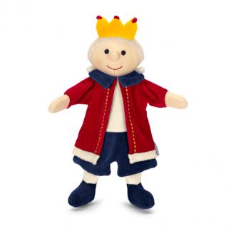 Handpuppe König