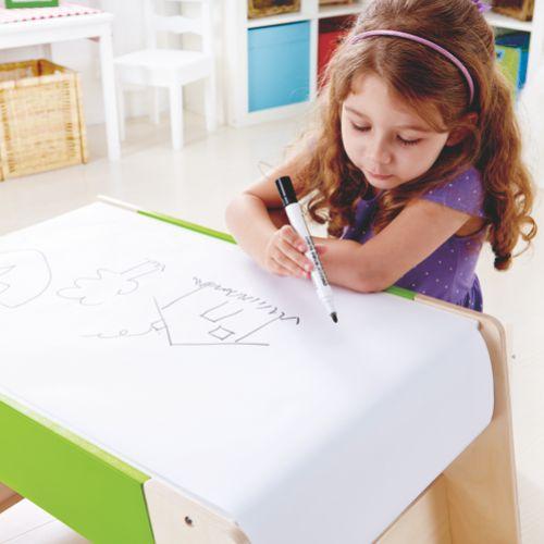 Erste Sitzgruppe Tisch Und Hocker Zum Malen Zeichnen Basteln