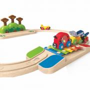 Kleines Eisenbahn-Set