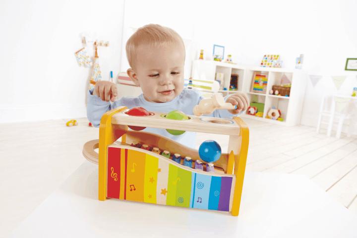 xylophon mit hammerspiel garantierter spielspa f r kinder ab 1 jahr. Black Bedroom Furniture Sets. Home Design Ideas