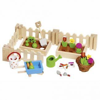 Garten Set Puppenhaus
