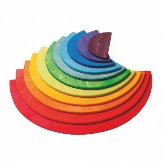 Große Regenbogen Halbkreise
