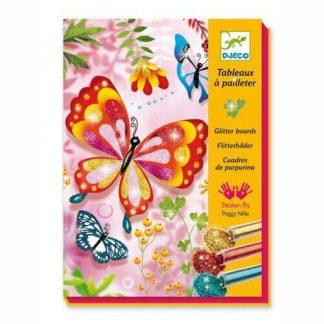 Glitzernde Schmetterlinge
