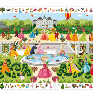Puzzle Wimmelbild Schlossgarten