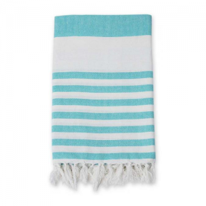 Turkish Towel Badetuch blue ocean