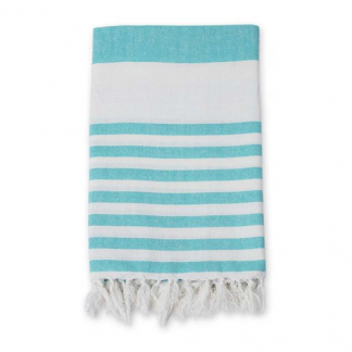 Turkish Towel Badetuch blue ocean