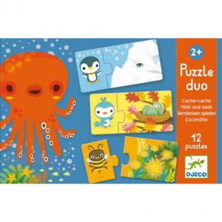 Puzzle Duo Verstecken spielen