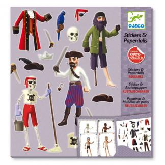 Sticker-Mappe Piraten