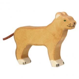 Löwin von Holztiger