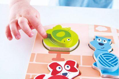Puzzle bewegliche Haustiere