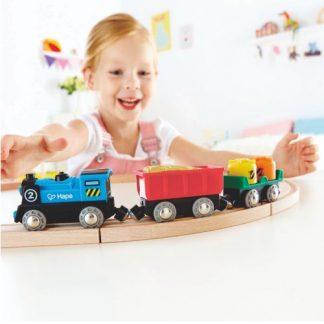 Güterzug mit Batterieantrieb