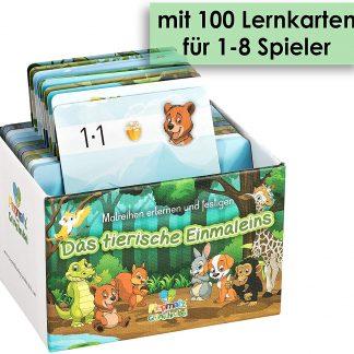 Einmaleins - 100 Lernkarten mit Register