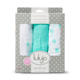 Mini Muslin Mulltuch Dreamland 3er-Set