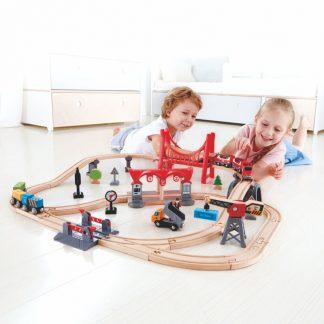 Eisenbahn-Set Verkehrsreiche Stadt
