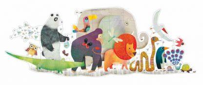 Riesenpuzzle Tierparade 36 Teile