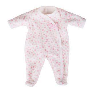 Schlafanzug Tupfen rosa