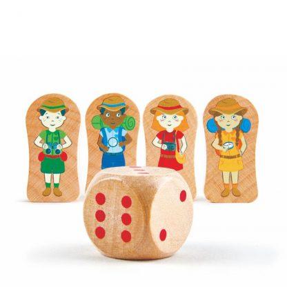 Weltreise Puzzle und Spiel