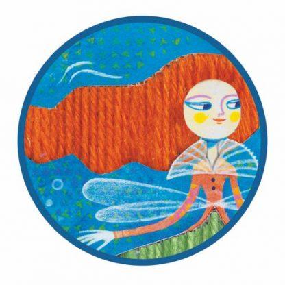 Plattstich Meerjungfrau