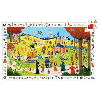 Puzzle Wimmelbild Märchen 54 Teile