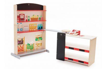 Kaufladen mit Kasse und Scanner