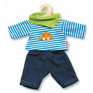 Puppenbekleidung 3-teilig Jungs