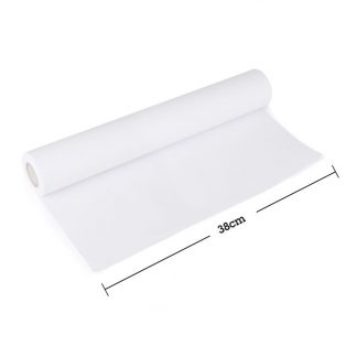 Rolle weißes Malpapier 38 cm breit 20 m lang
