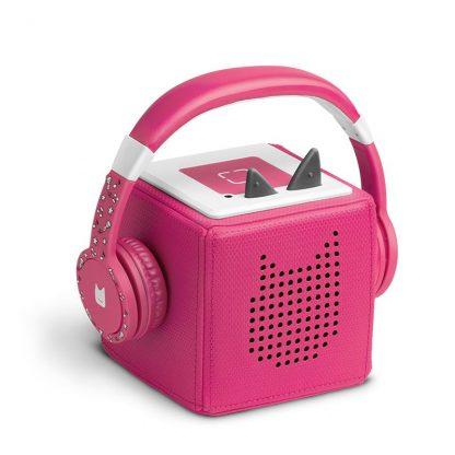 pink Kopfhörer für die Toniebox