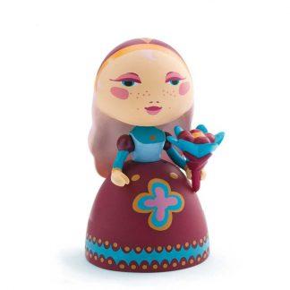 Spielfigur Prinzessin mit Blumenstrauß