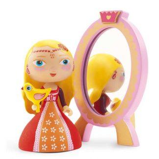 Spielfigur Prinzessin mit Spiegel