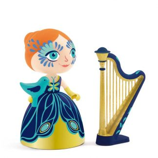 Spielfigur Prinzessin mit Harfe