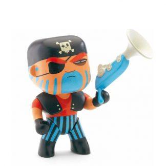 Spielfigur Pirat mit Pistole