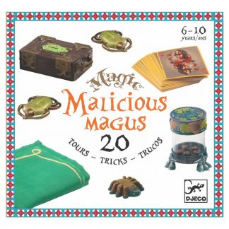 schöner Zauberkasten mit 20 Zaubertricks von Djeco