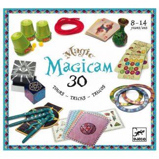 großer Zauberkasten mit 30 Zaubertricks von Djeco