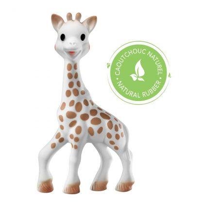 Giraffe aus Naturkautschuk für Babys