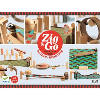 Zig Go Geschicklichkeit Baukasten Big Boum Wall 48 Teile Box