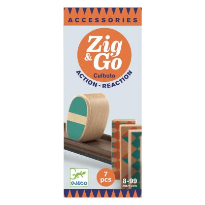 Zig Go Geschicklichkeit Baukasten Culbuto 7 Teile Box