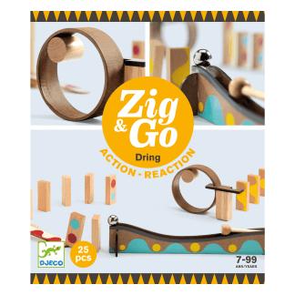 Zig Go Geschicklichkeit Baukasten Dring 25 Teile Box