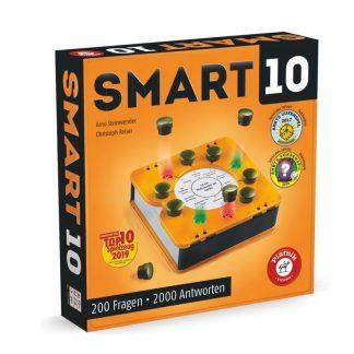 Wissensspiel mit oranger Smartbox