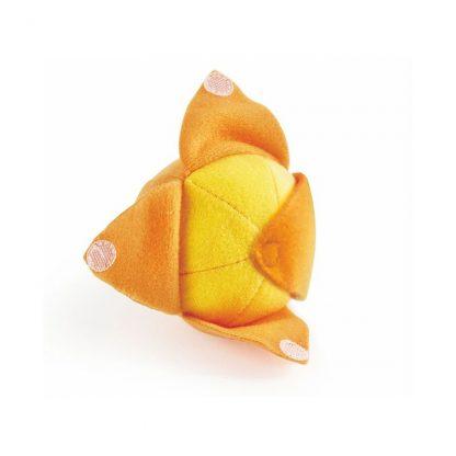 Orange aus Stoff schälbar