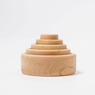 5 Holzschälchen geölt
