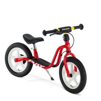 rotes Puky Laufrad mit Luftreifen und Bremsen