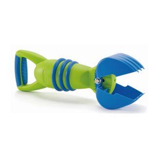 grün-blauer Greifer Sandspielzeug