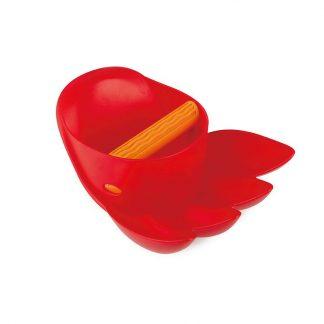 rote Kralle Sandspielzeug